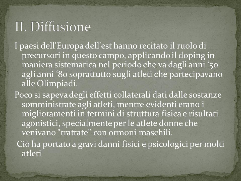 II. Diffusione