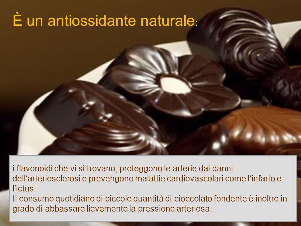 È un antiossidante naturale: