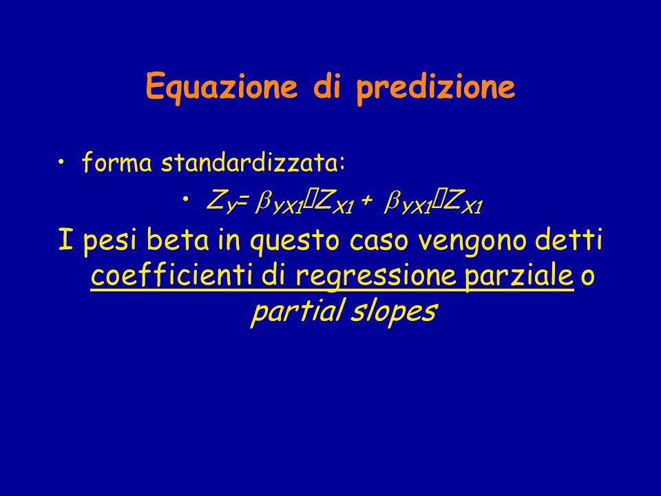 Equazione di predizione