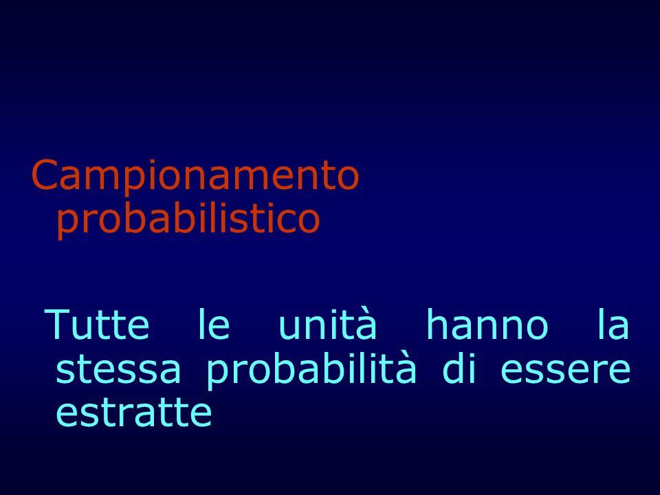 Campionamento probabilistico