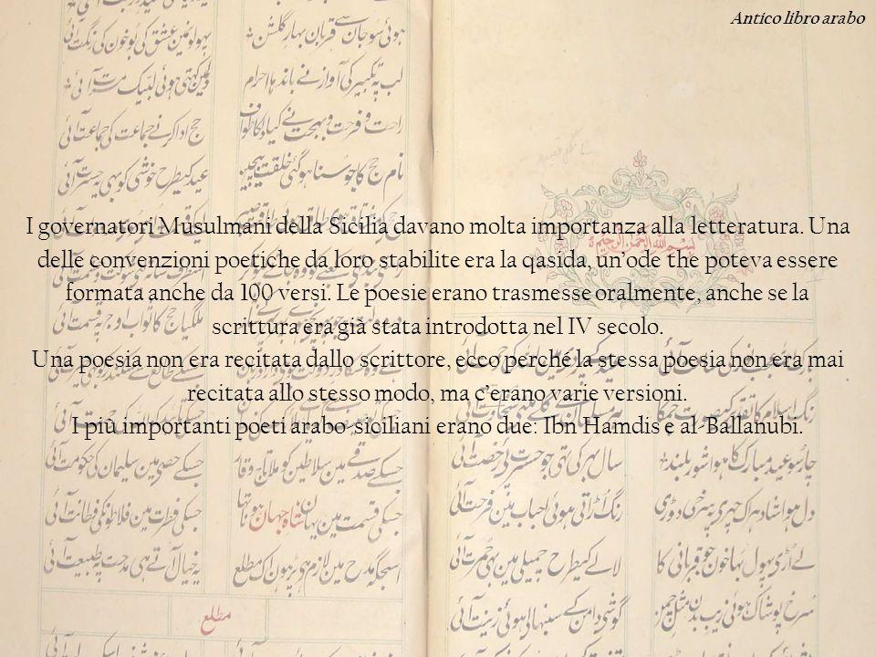 Antico libro arabo