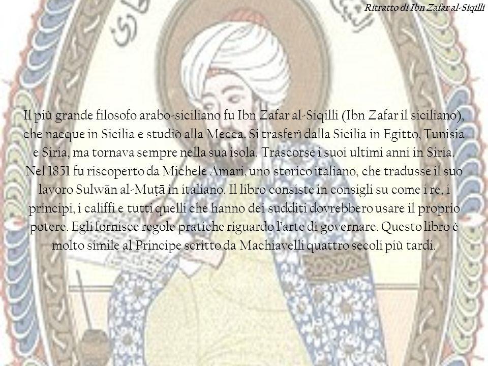 Ritratto di Ibn Zafar al-Siqilli