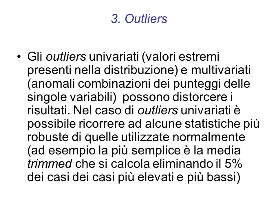 3. Outliers