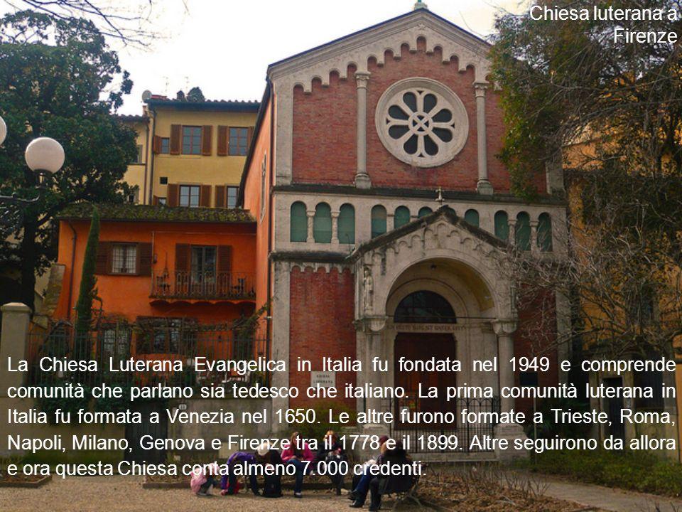 Chiesa luterana a Firenze