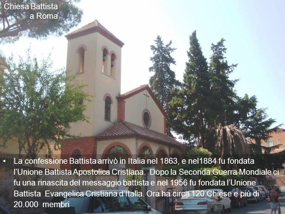 Chiesa Battista a Roma