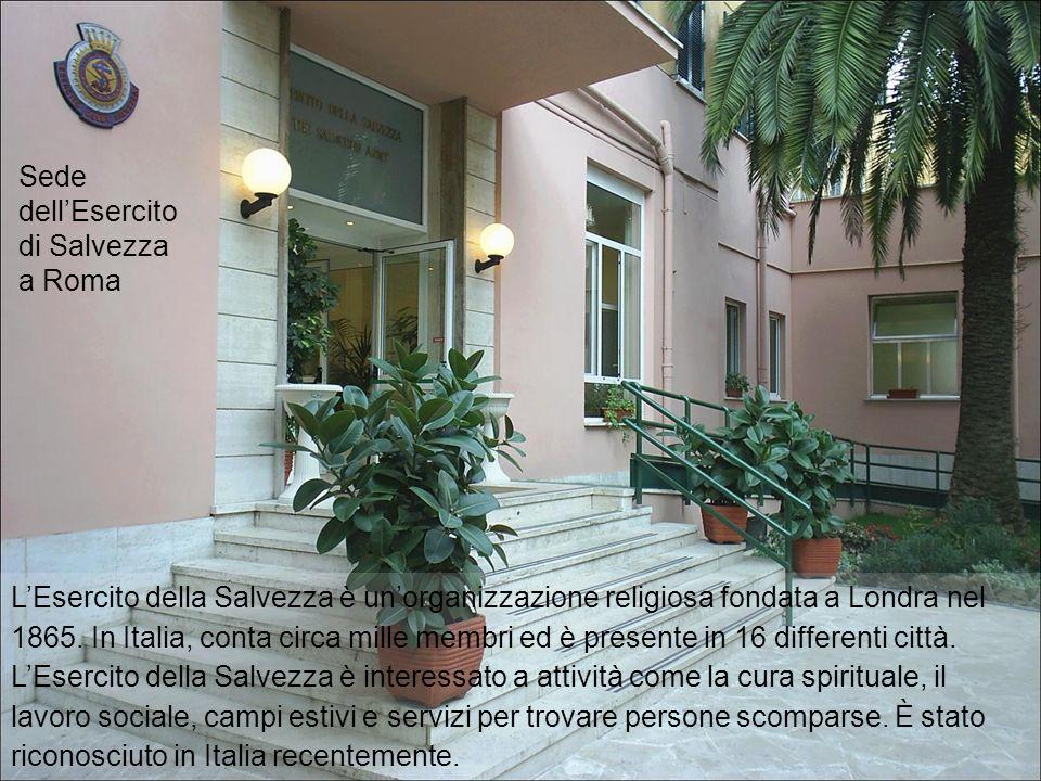Sede dell'Esercito di Salvezza a Roma