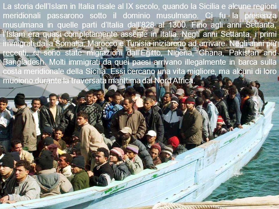 La storia dell'Islam in Italia risale al IX secolo, quando la Sicilia e alcune regioni meridionali passarono sotto il dominio musulmano.