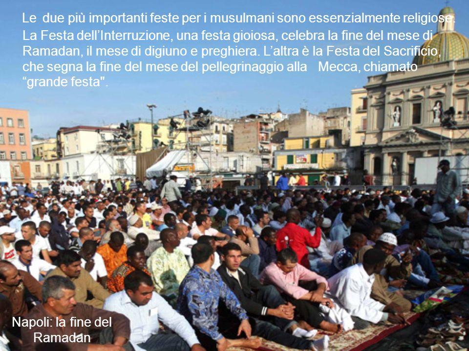 Napoli: la fine del Ramadan