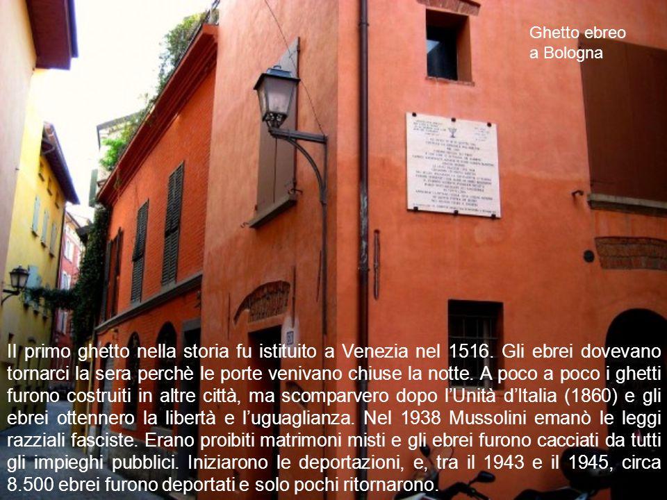 Ghetto ebreo a Bologna