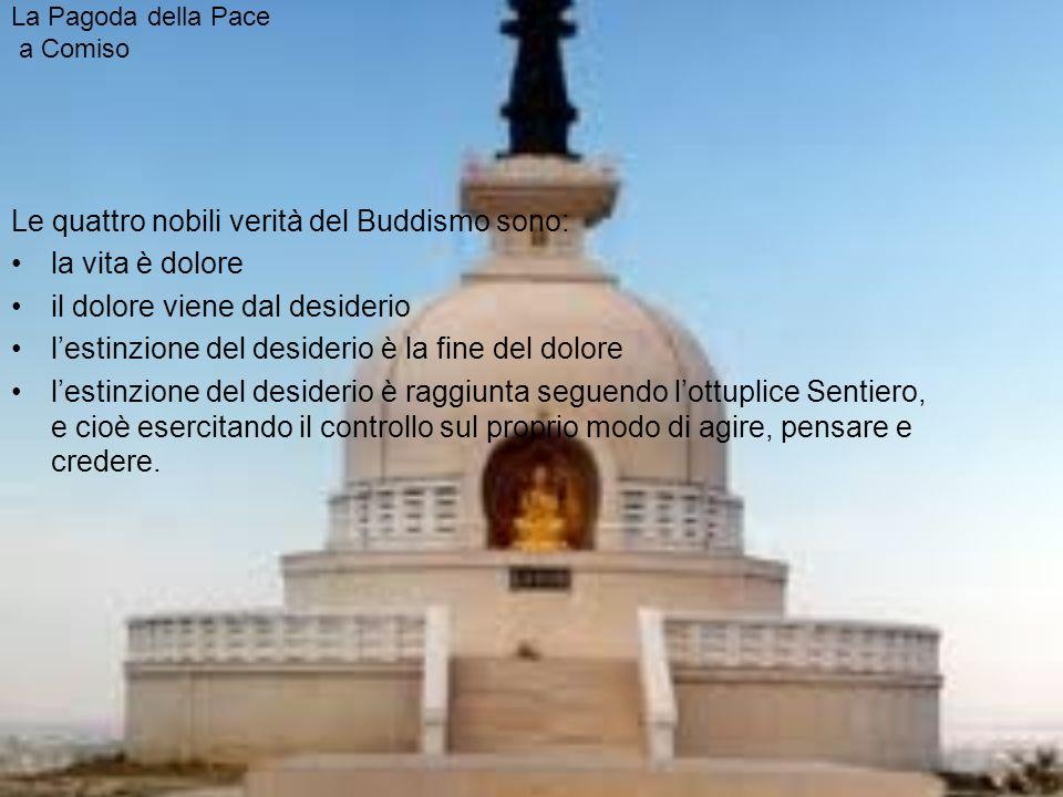 La Pagoda della Pace a Comiso