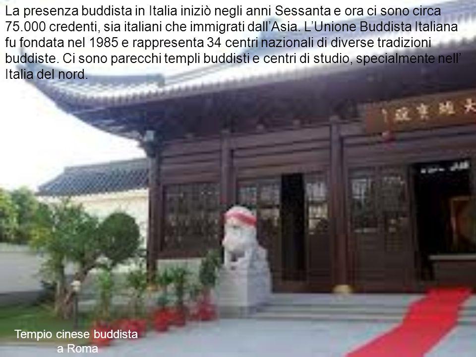 Tempio cinese buddista a Roma