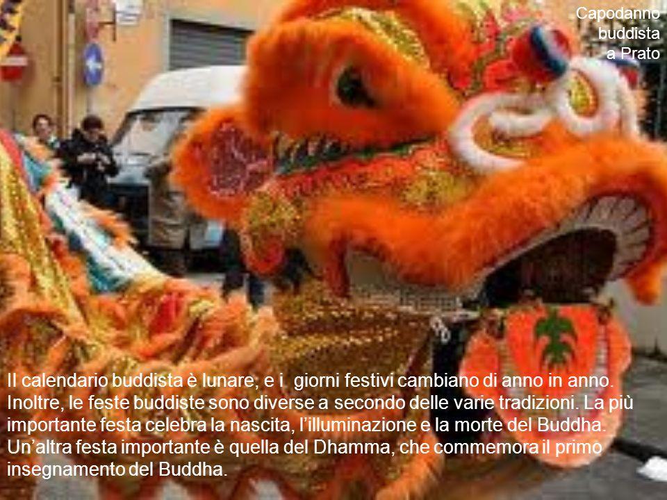 Capodanno buddista a Prato