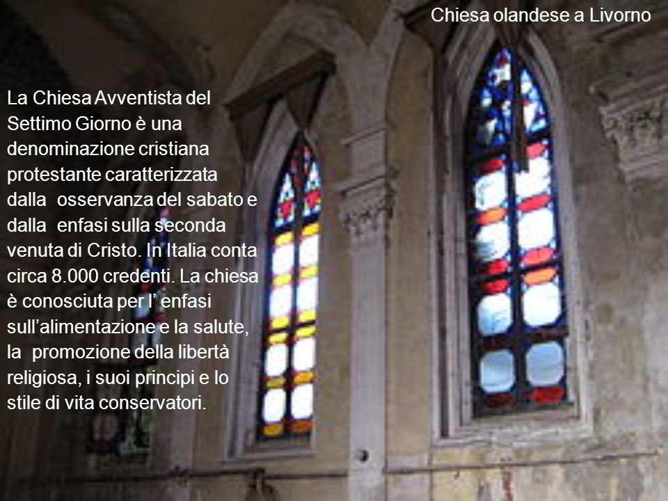 Chiesa olandese a Livorno