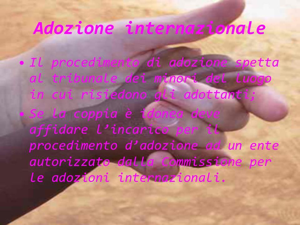 Adozione internazionale