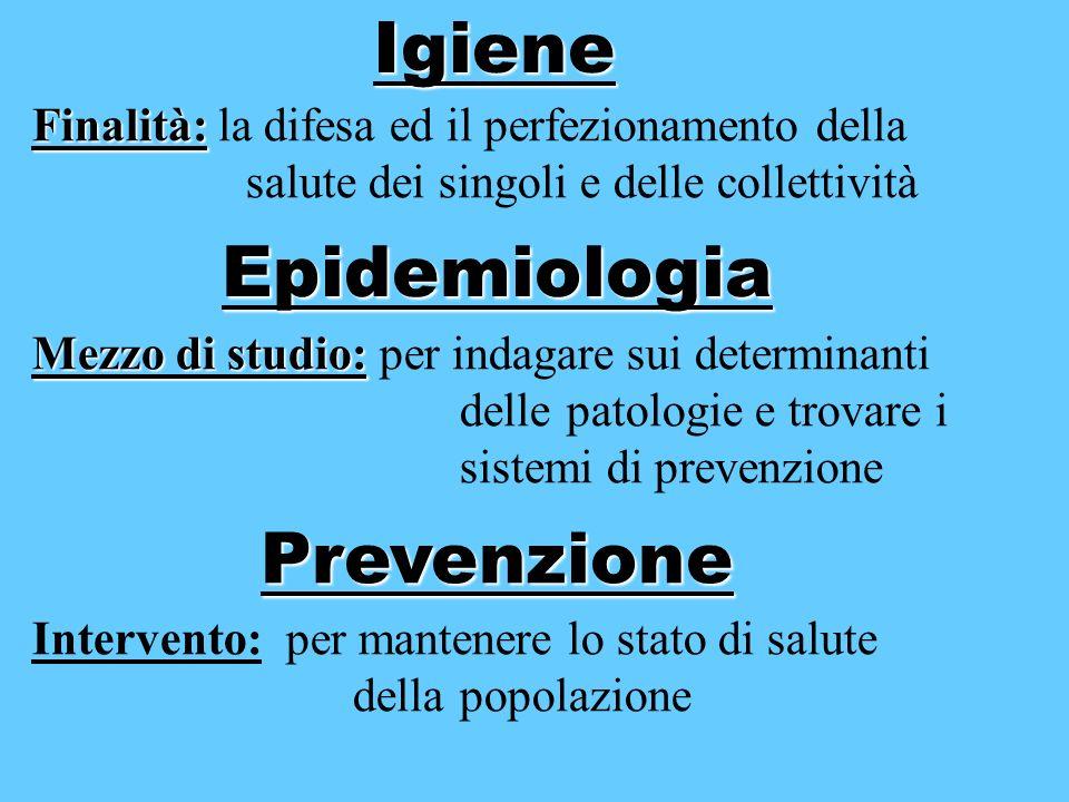 Igiene Epidemiologia Prevenzione