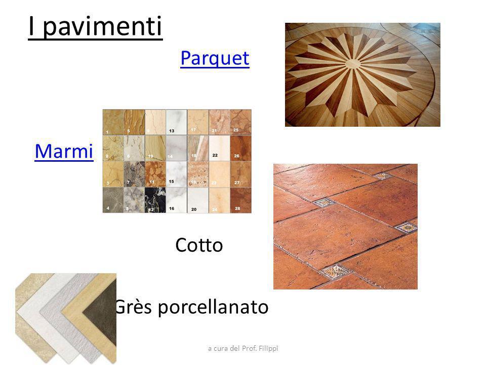 I pavimenti Parquet Marmi Cotto Grès porcellanato