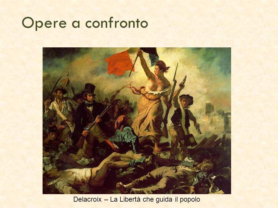 Delacroix – La Libertà che guida il popolo