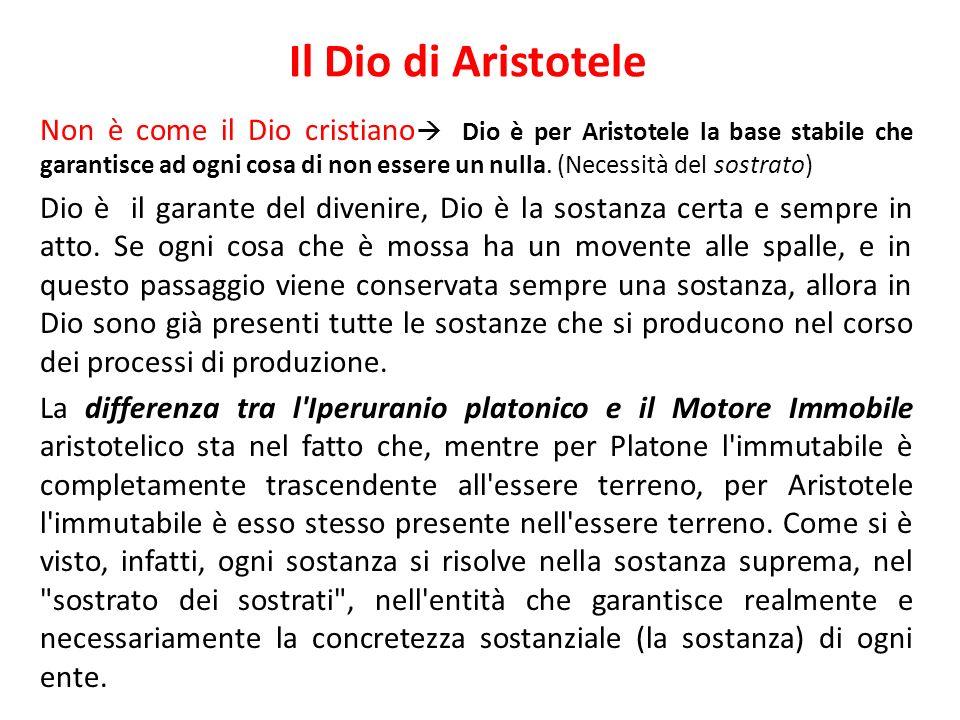 Il Dio di Aristotele
