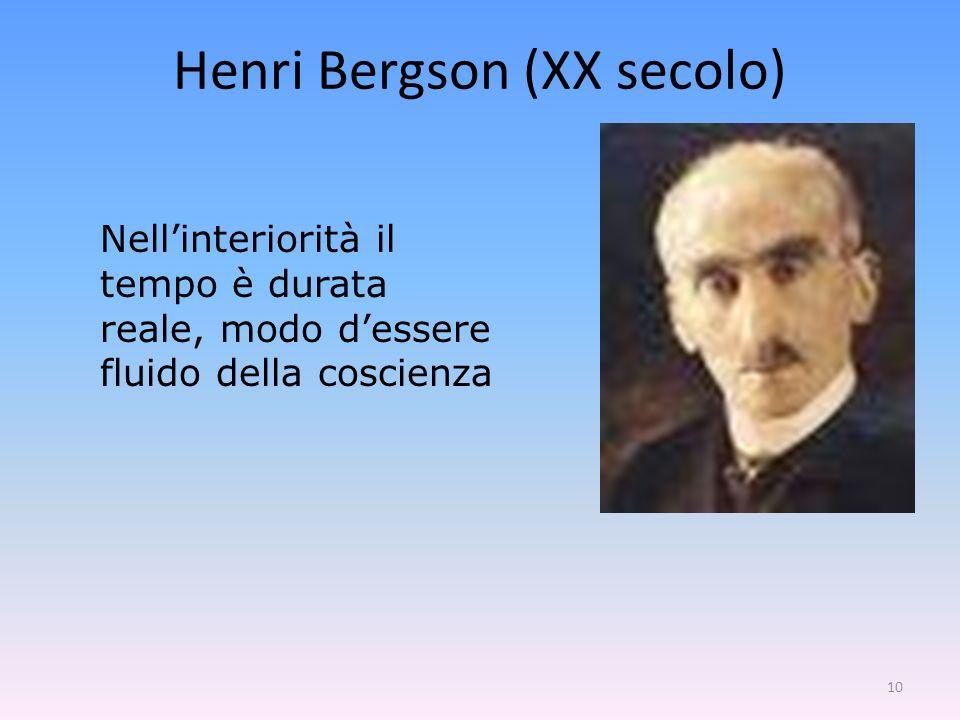 Henri Bergson (XX secolo)