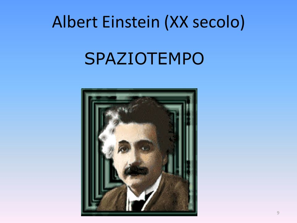 Albert Einstein (XX secolo)
