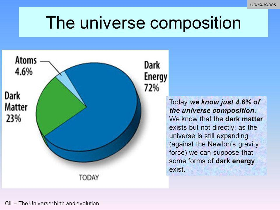 The universe composition