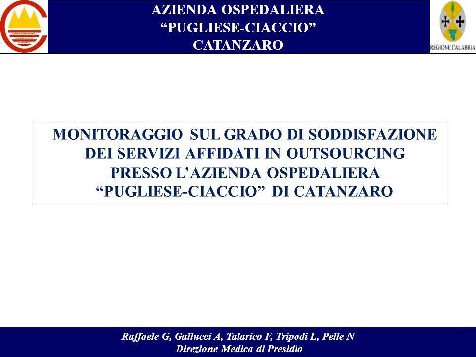 MONITORAGGIO SUL GRADO DI SODDISFAZIONE
