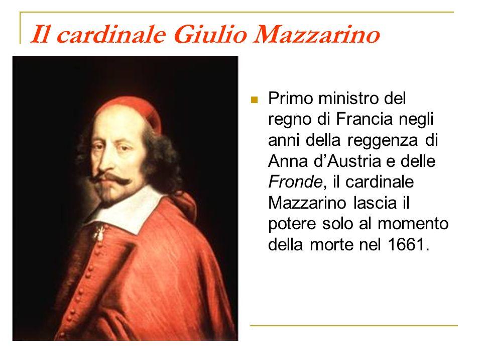 Il cardinale Giulio Mazzarino