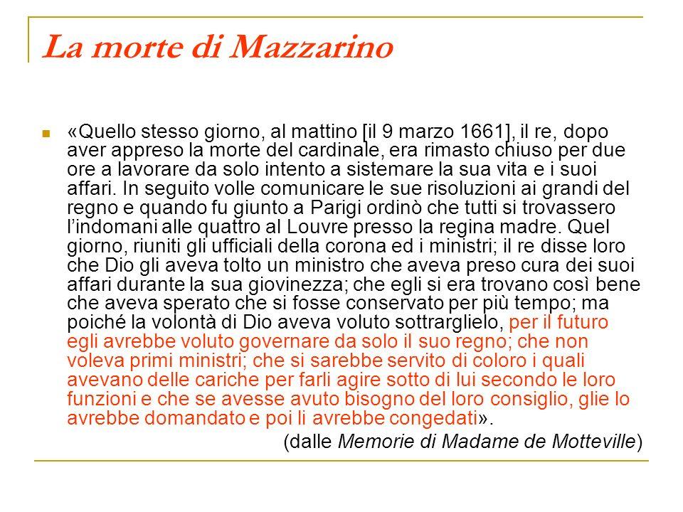 La morte di Mazzarino