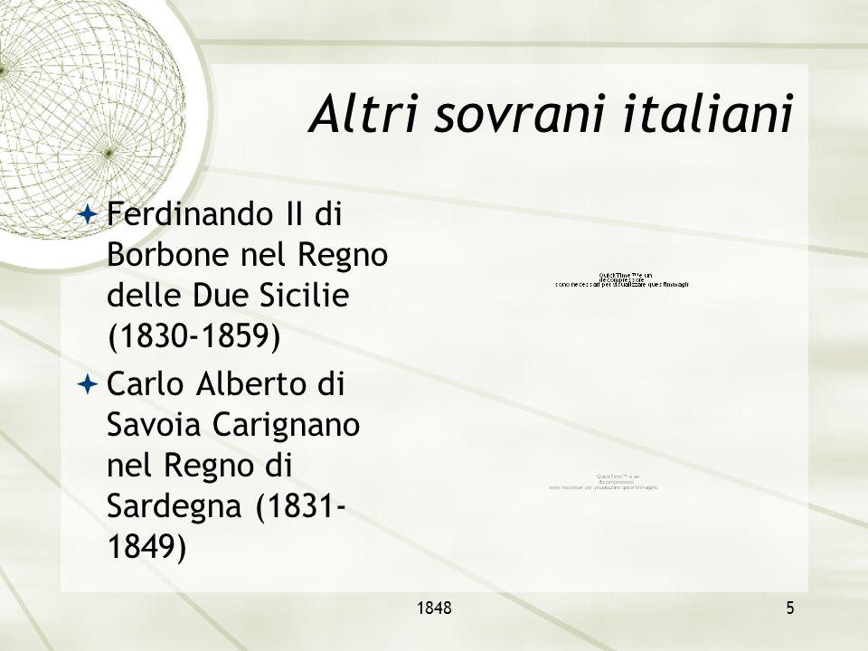 Altri sovrani italiani