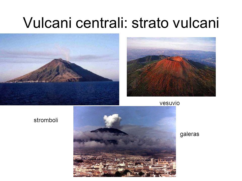 Vulcani centrali: strato vulcani