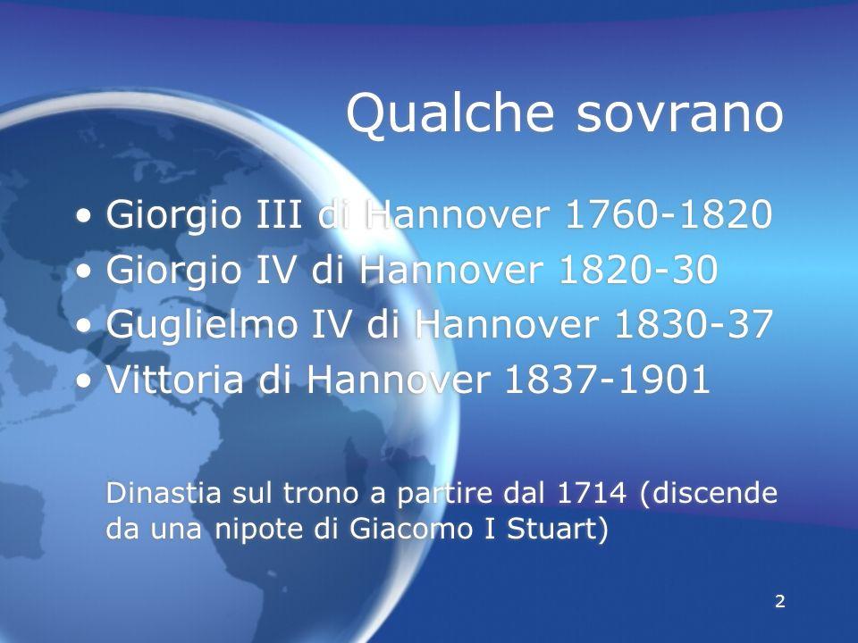 Qualche sovrano Giorgio III di Hannover 1760-1820