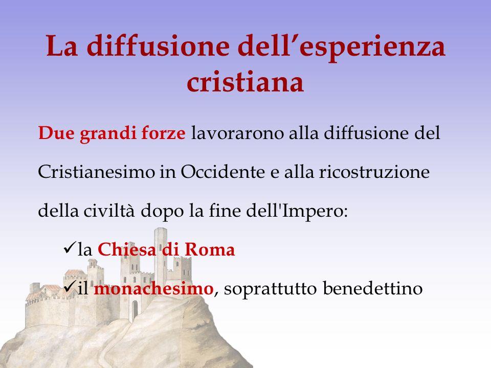 La diffusione dell'esperienza cristiana