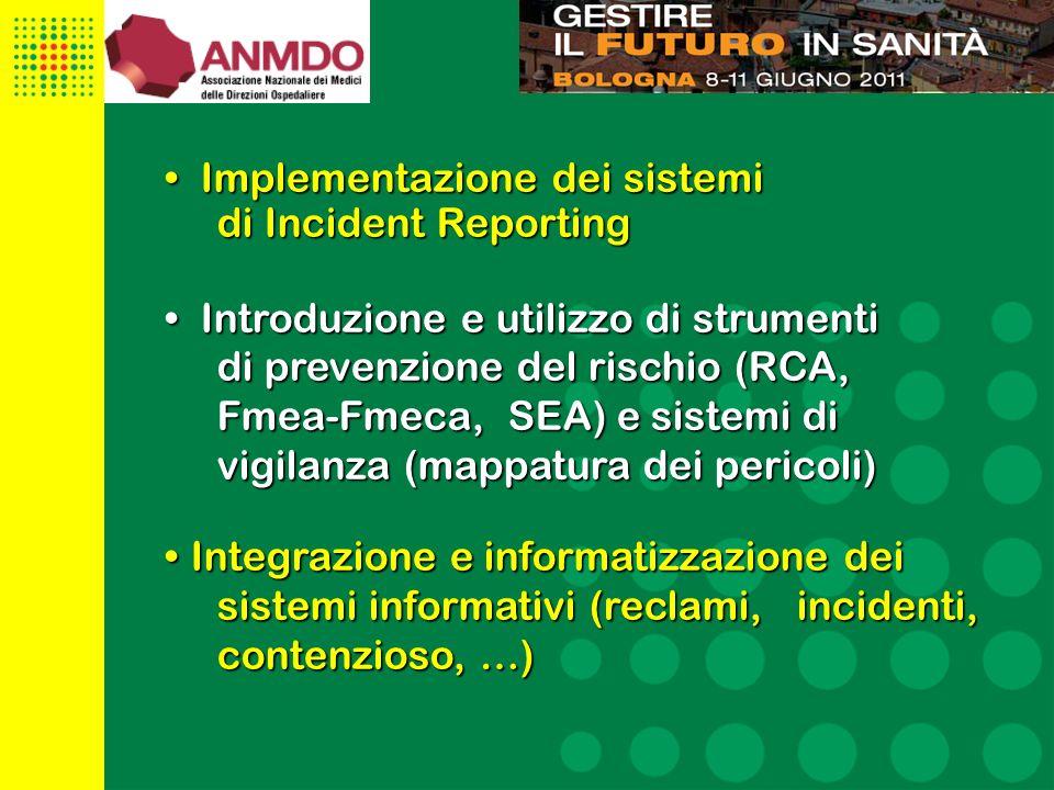Implementazione dei sistemi