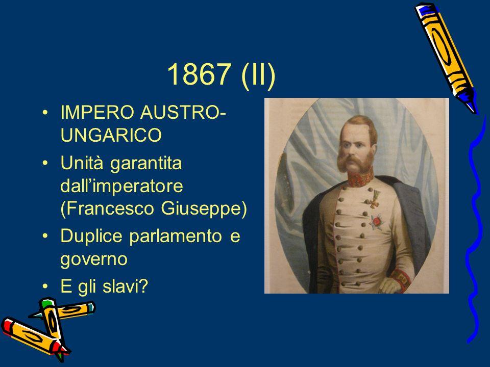 1867 (II) IMPERO AUSTRO-UNGARICO