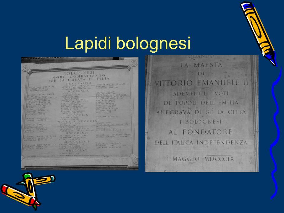 Lapidi bolognesi