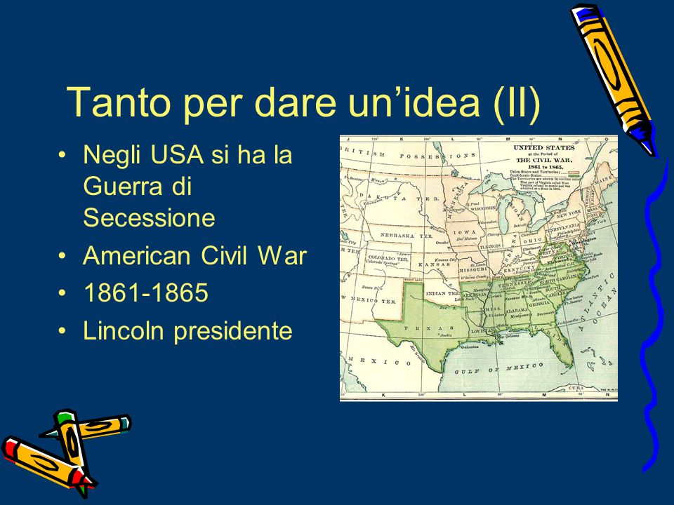 Tanto per dare un'idea (II)