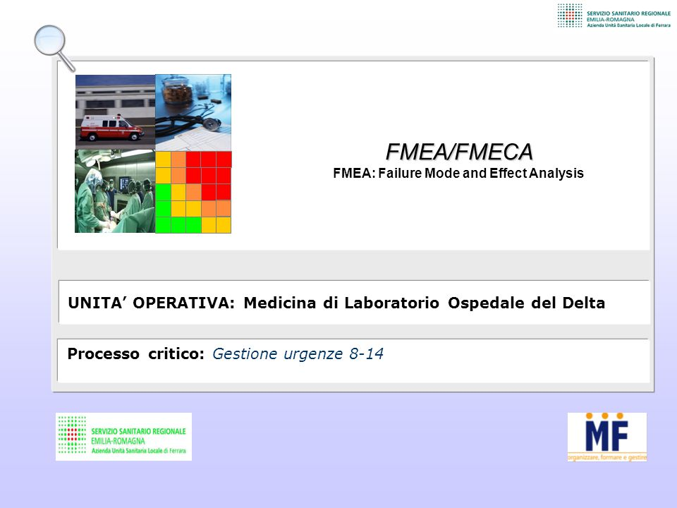 FMEA: Failure Mode and Effect Analysis