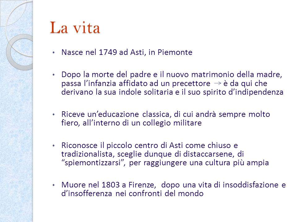 La vita Nasce nel 1749 ad Asti, in Piemonte