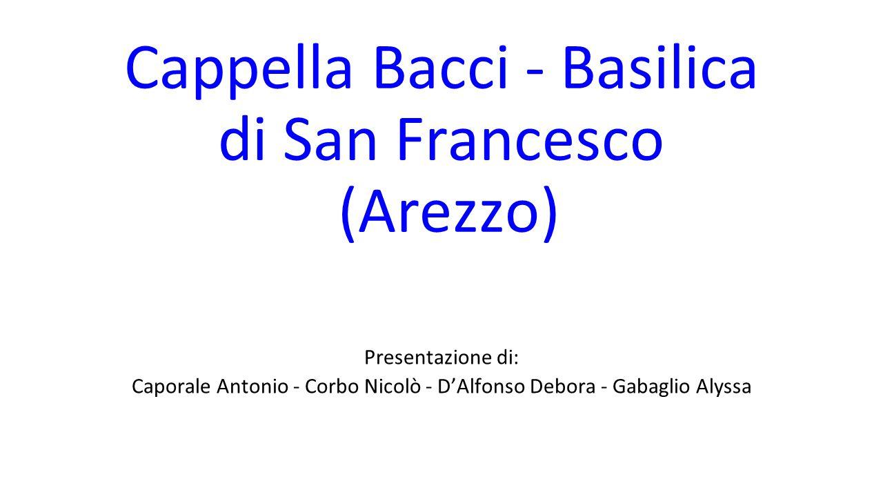 Cappella Bacci - Basilica di San Francesco (Arezzo)