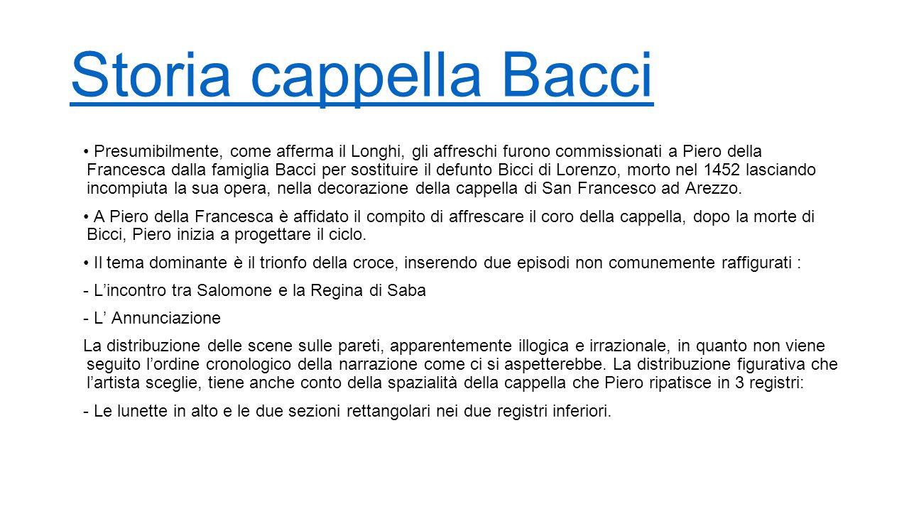 Storia cappella Bacci