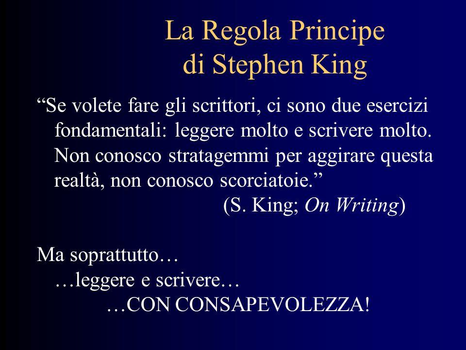 La Regola Principe di Stephen King