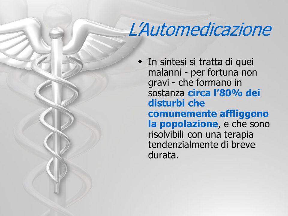 L'Automedicazione