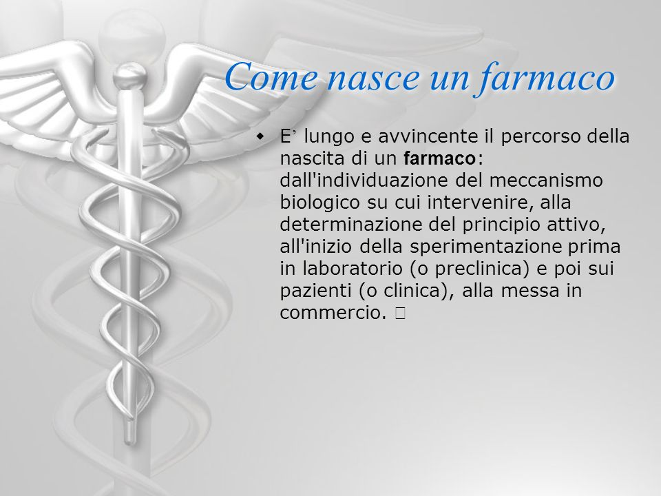 Come nasce un farmaco