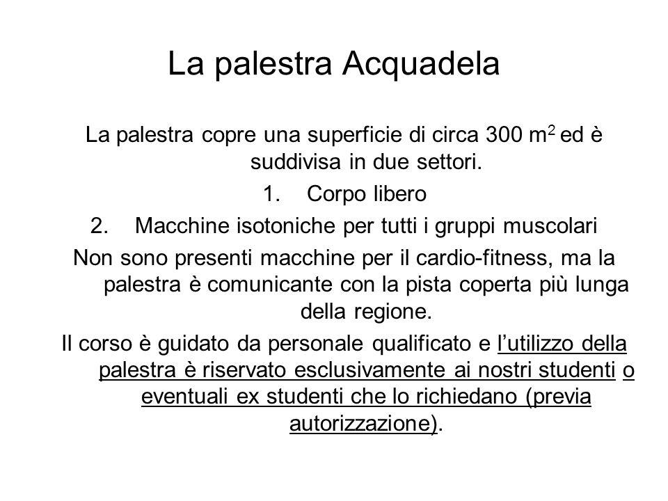 Macchine isotoniche per tutti i gruppi muscolari