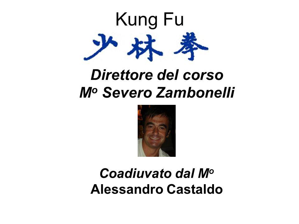 Kung Fu Direttore del corso Mo Severo Zambonelli Coadiuvato dal Mo