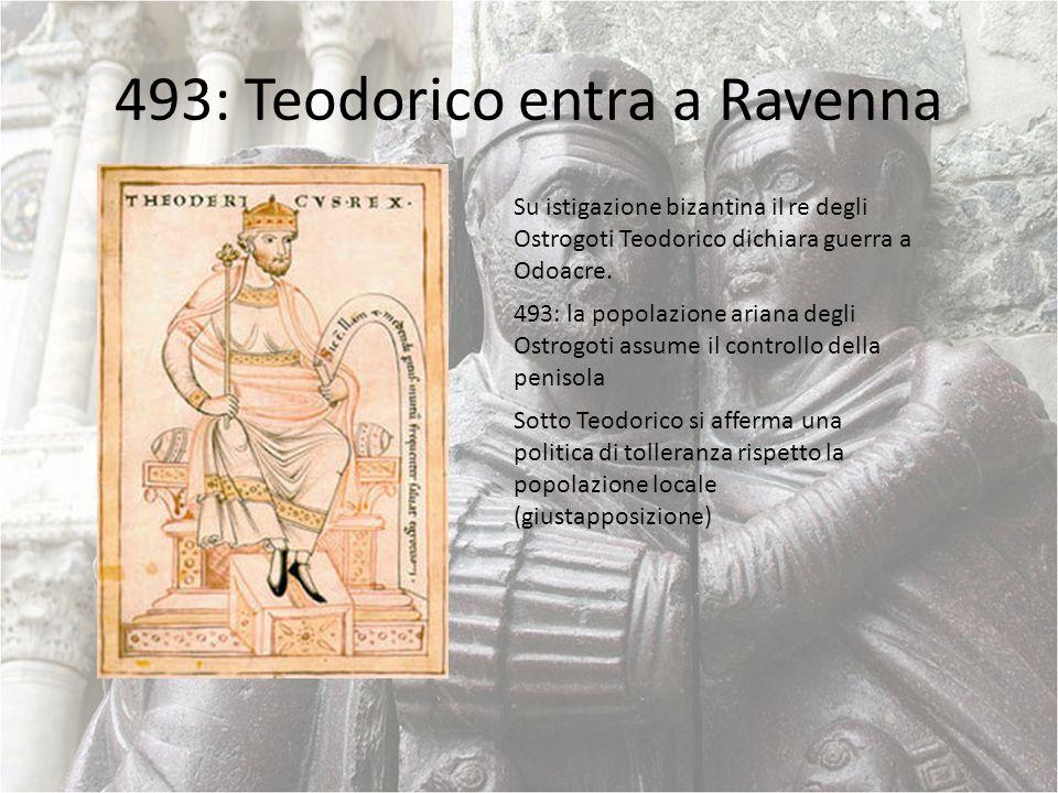 493: Teodorico entra a Ravenna