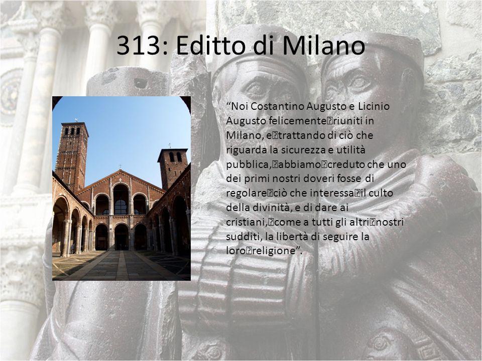 313: Editto di Milano