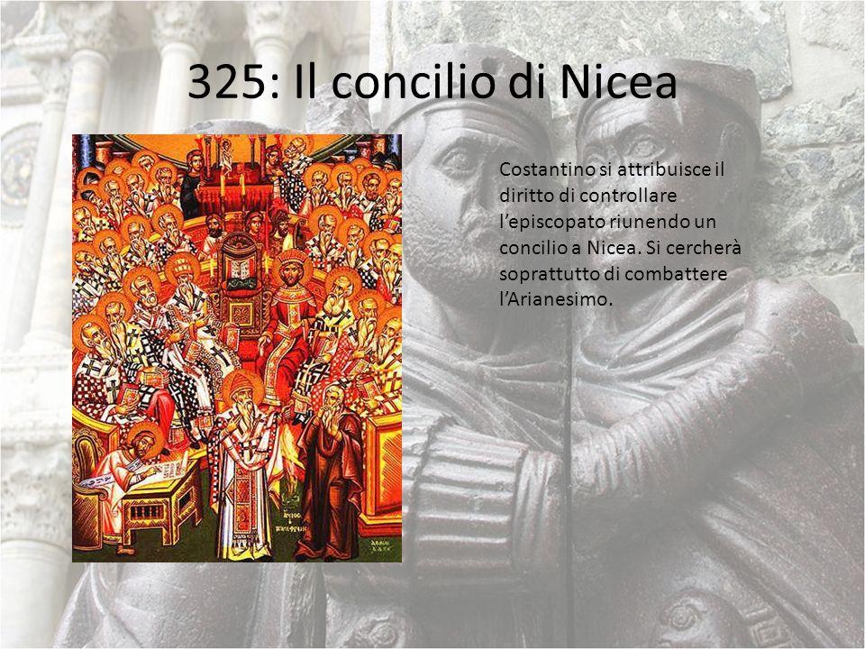 325: Il concilio di Nicea