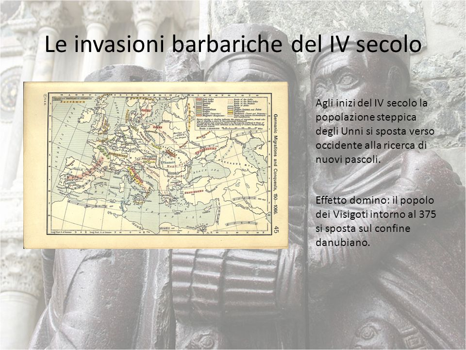 Le invasioni barbariche del IV secolo