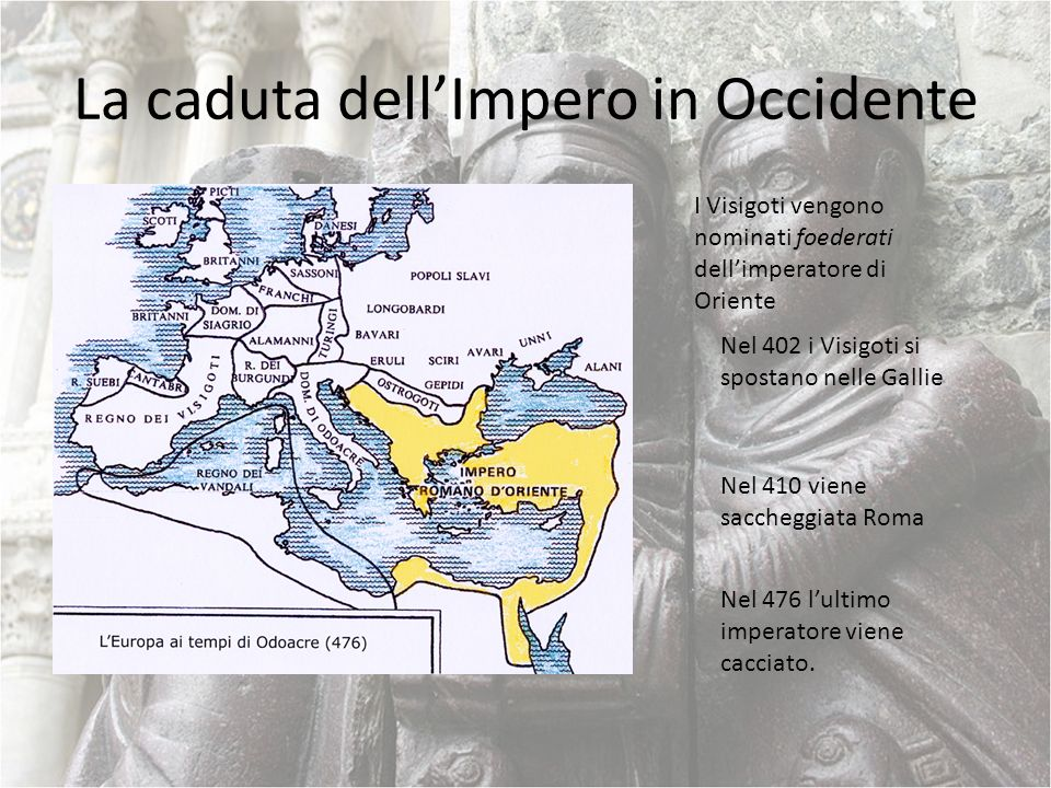 La caduta dell'Impero in Occidente
